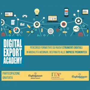 """Digital export academy"": otto lezioni on line e gratuite"